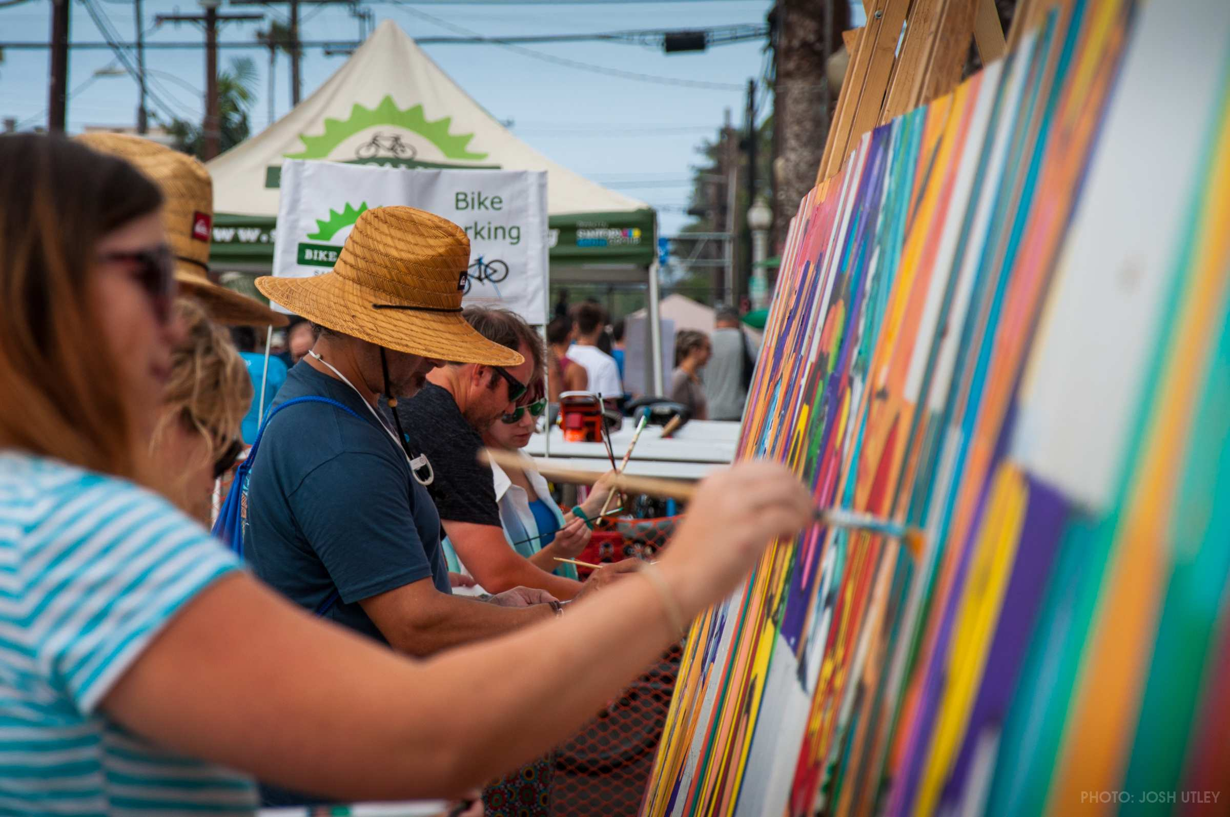 Murals of 2017 Street Fair & Chili Cook-Off Festival