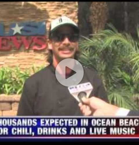 OB Street Fair and Chili Cook-Off 2015 - KUSI segment