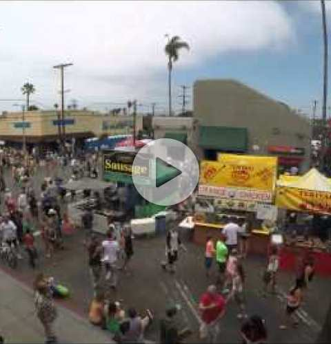 OB Street Fair & Chili Festival 2014 Time Lapse - Newport Ave.