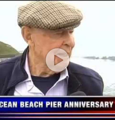 OB Pier 50th Anniversary Celebration KUSI Segment (#1) with Leonard Teyssier - July 2, 2016