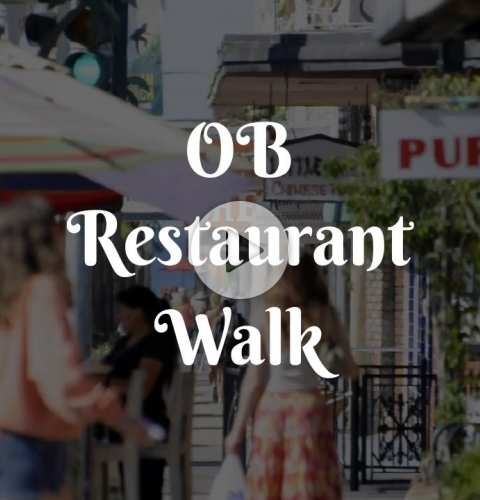 Ocean Beach Restaurant Walk