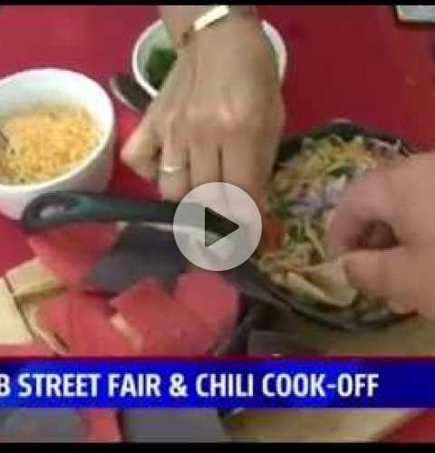 OB Street Fair and Chili Cook-Off 2016 - Fox 5 segment featuring Chili Cook-Off
