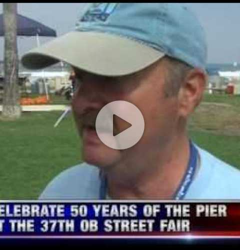 OB Street Fair and Chili Cook-Off 2016 - KUSI segment featuring Chili Cook-Off