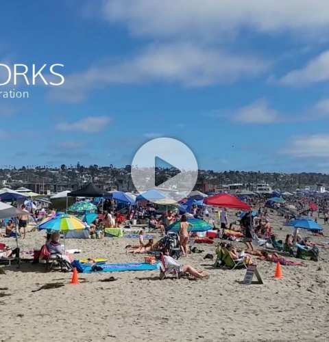 Fireworks 2017 Ocean Beach Pier