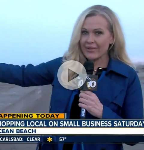 2017 Shop Small OB on ABC (6:30am)