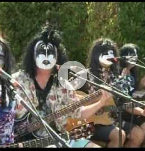 OB Street Fair and Chili Cook-Off 2016 - Fox 5 segment featuring Kissed Alive