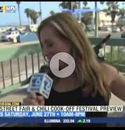 OB Street Fair and Chili Cook-Off 2015 - SD6 segment at Shades
