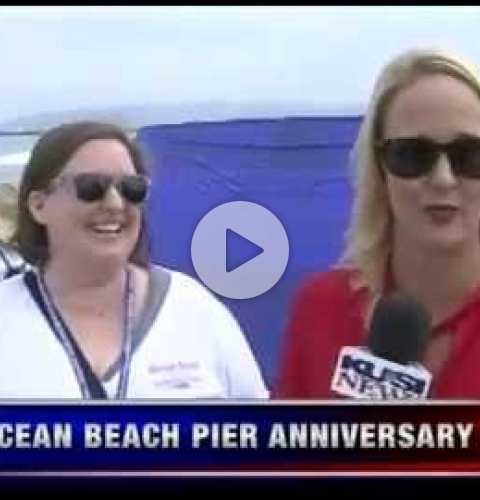 OB Pier 50th Anniversary Celebration KUSI Segment (#2) - July 2, 2016