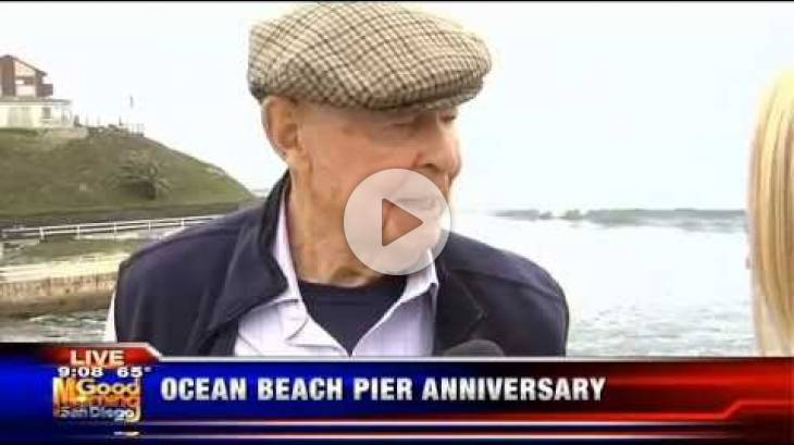 OB Pier 50th Anniversary Celebration KUSI Segment (#1) with Leonard Teyssier - July 2, 2016