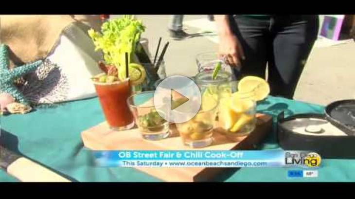 OB Street Fair and Chili Cook-Off 2016 - CW segment featuring Bloody Mary Contest