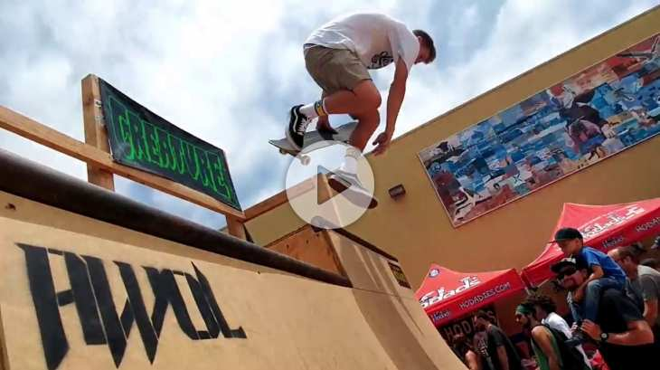 Hodads and AWOL Skateboard Contest