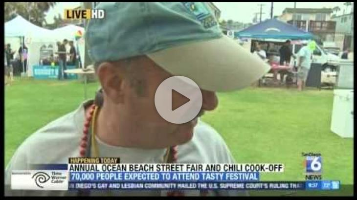 OB Street Fair and Chili Cook-Off 2015 - SD 6 segment (9:30 am)