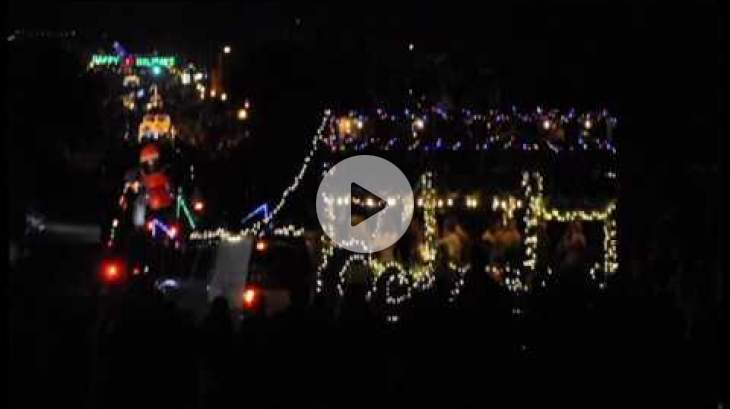 OB Holiday Parade 2016 Timelapse