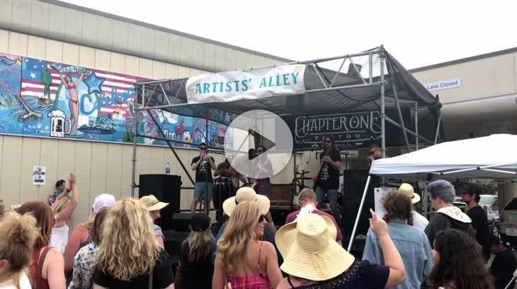 Street Fair 2017 Five LIVE Music Stages