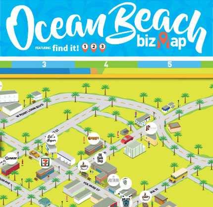 Maps | Ocean Beach San Diego CA