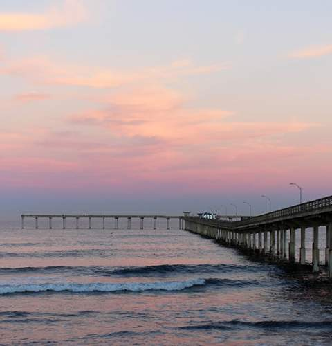Pier Sunrise by Amy O'Connor