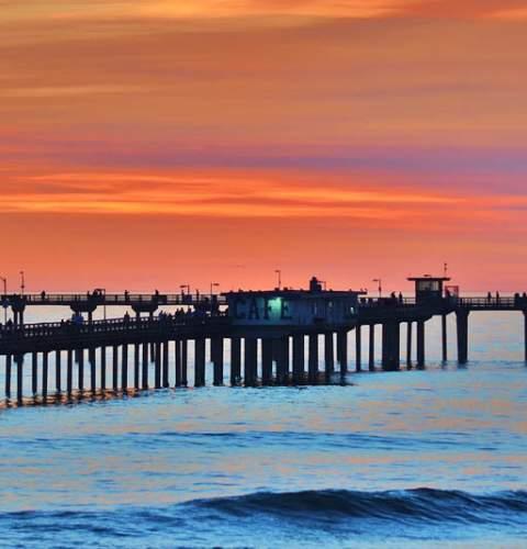 OB Pier Photo by Jim Grant