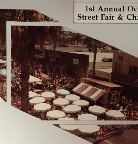 History of the OB Street Fair & Chili Cook-Off Festival