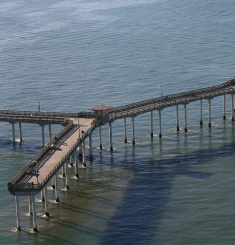 Aerial Pier Photos from Teyssier & Teyssier
