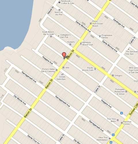 Public Parking Locations in Ocean Beach 92107