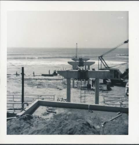 OB Pier Construction Photos from Teyssier & Teyssier