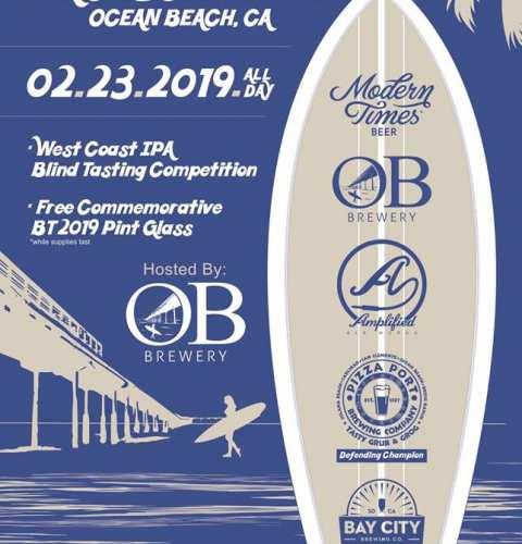 Ocean Beach News Article: Beachtown Throwdown at OB Brewery