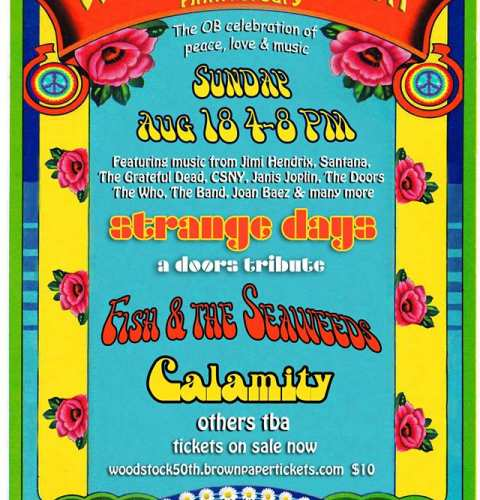 Ocean Beach News Article: Woodstock 50th Anniversary Celebration at Winstons
