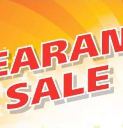 Clearance Sale at Chameleon