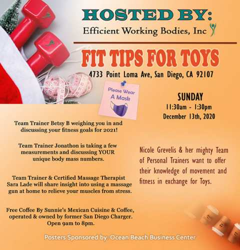 Ocean Beach News Article: Fit Tips for Toys