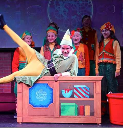 Elf Jr. the Musical at OB Playhouse