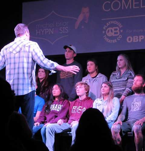 Comedy Hypnotist at OB Playhouse