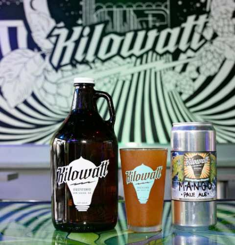 Ocean Beach News Article: OBMA Member Spotlight! Kilowatt Brewing