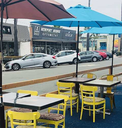 Ocean Beach News Article: Ocean Beach dines al fresco in the streets of OB!