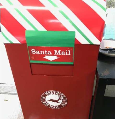Santa's Mailbox at OB Business Center