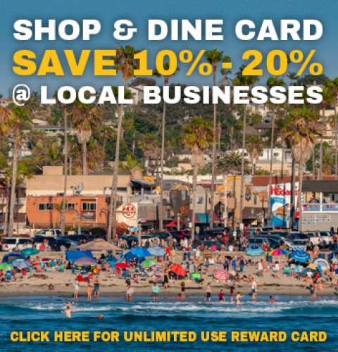 Ocean Beach News Article: OB Shop & Dine Card