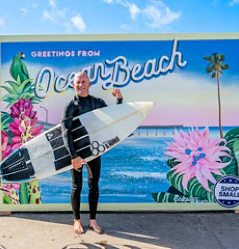 Ocean Beach News Article: Shop Small OB Portraits are ready!