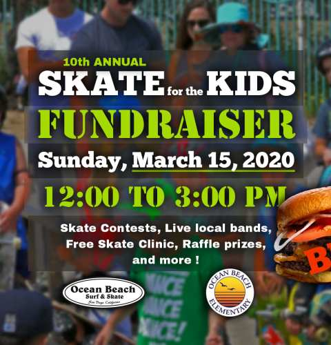 Ocean Beach News Article: 10th Annual Skate for the Kids