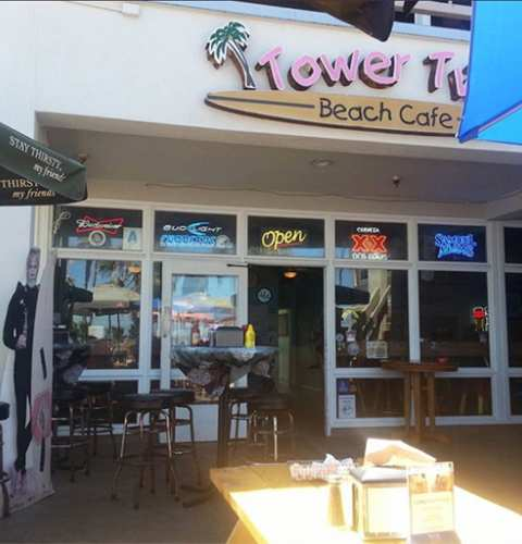News from the owners of Tower 2 Beach Cafe