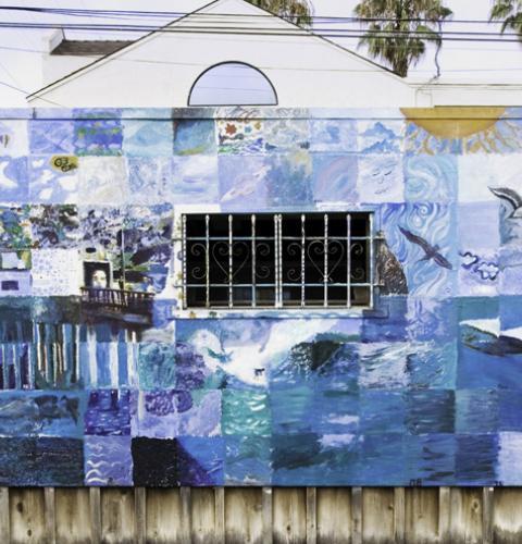 Ocean Beach comunnity mural project