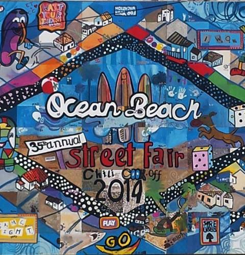 Ocean Beach community mural project