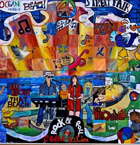 Ocean Beach community mural project