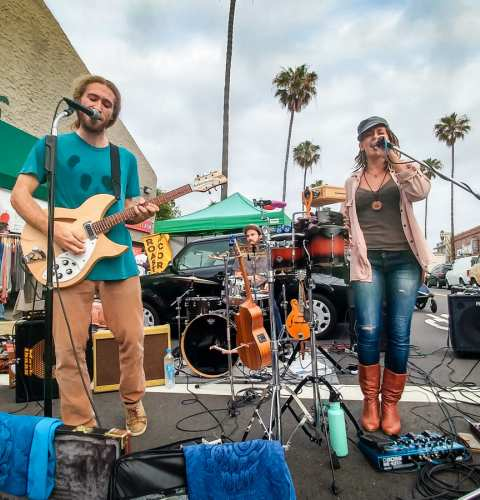 Live Music at Farmers Market Wednesdays San Diego California 92107