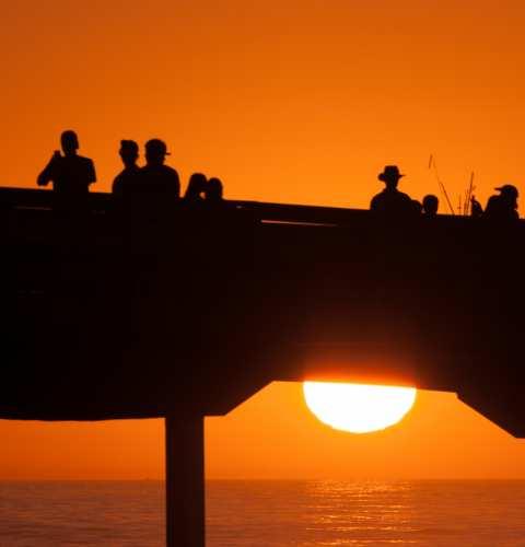 Ocean Beach San Diego Municipal Fishing Pier