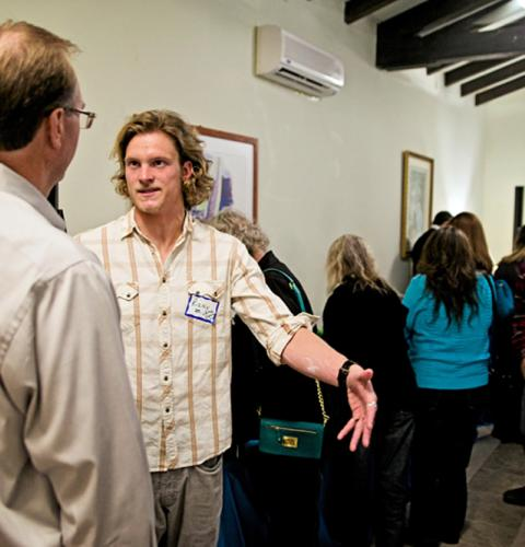 Photo of: OBMA Member Event: Sundowner at Beardsley Mitchell Funeral Home