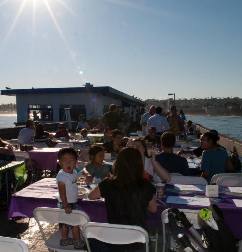 Photo of: OBTC Pier Pancake Breakfast
