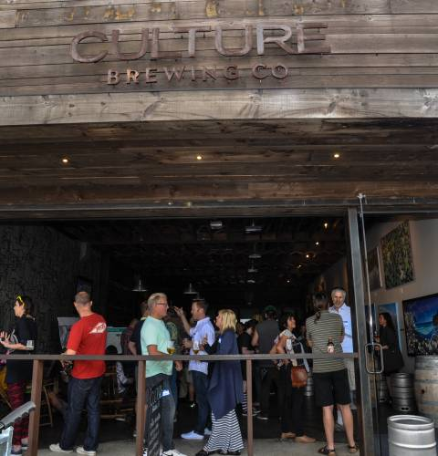 Photo of: OBMA Member Event: Sundowner at Culture Brewing Co with The Joint