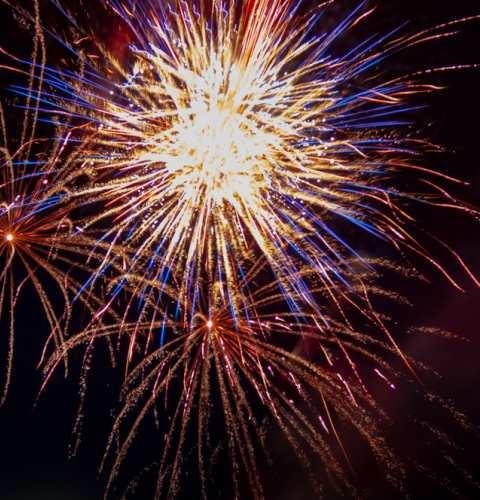 Ocean Beach Pier 4th of July Fireworks Celebration