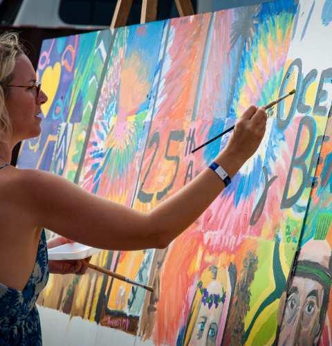 Murals of 2017 Street Fair & Chili Cook-Off Festival