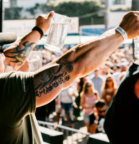 OB Oktoberfest 2019 Stein Holding Contest