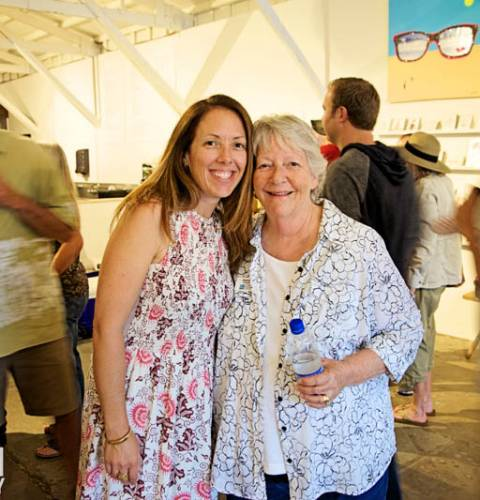 Photo of: OB Pier 50th Anniversary Art Show Reception at Teeter